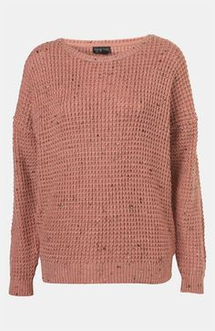 Topshop Speckled Sweater | Nordstrom