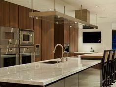 Appliance wall in kitchen