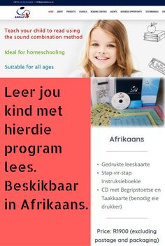 Vir ma's wat self hulle kinders wil leer lees en skryf. Afrikaans Quotes, Reading Centers, Preschool Classroom, Animal Quotes, Learn To Read, Business Opportunities, Pre School, Outdoor Travel, Success Quotes