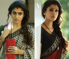 November is an Indian actress who appears mainly in the Tamil cinema. luxury nayanthara hairstyle of all t Side Braid With Curls, Nayanthara Hairstyle, South Indian Bride, Traditional Looks, Indian Attire, Hair Today, Cool Hairstyles, Beautiful Hairstyles, Indian Actresses