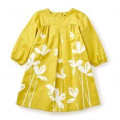 Yuzu Sateen Dress | Tea Collection