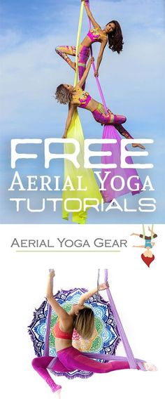 The BEST aerial yoga tutorials for beginners!