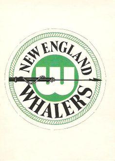 1972-73 O-Pee-Chee WHA Team Logos - New England Whalers 25ce85bc8