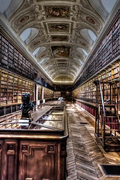 Library, Luxembourg Palace, Paris VI