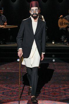 Umit Benan   Spring 2014 Menswear Collection   Style.com