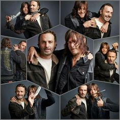 Andrew Lincoln & Norman Reedus for TV Guide Magazine