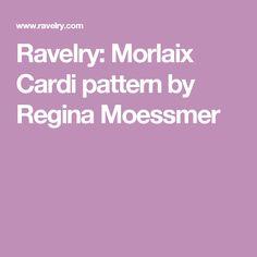 Ravelry: Morlaix Cardi pattern by Regina Moessmer