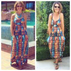 Same dress, 2 ways!
