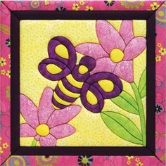 Mary Maxim - Busy Bee Quilt Magic Kit - Quilt Magic - Crafts