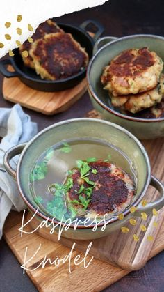 Köstlich Kaspressknödel wie in Tirol #kaspressknödel #almküche #rezept Ciabatta, Tapas, Palak Paneer, Ethnic Recipes, Instagram, Food, Oxtail, Garbanzo Salad, Easy Meals