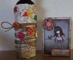 card + gift wrap by ememeska