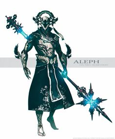 Aleph, the First Promethean. by IgnusDei on DeviantArt