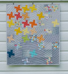 Modern Quilting Gallery | The Modern Quilt Guild Filtered Sunlight - by Judy Durant