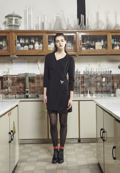 """AKIN TO _______  AW15 """"Plomb"""" Collection   Dress"""
