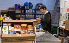 Estimated threefold rise in people using foodbanks in the UK