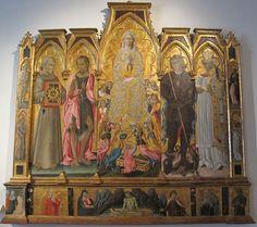 Giovanni di Paolo - Pala di Staggia - Pinacoteca Nazionale, Siena