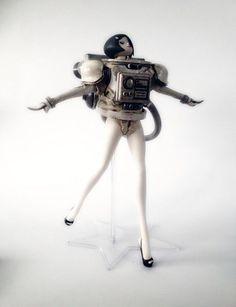1:12 3A LASSTRANAUT Female Astronaut Collection Action Figure Set Model #Unbranded