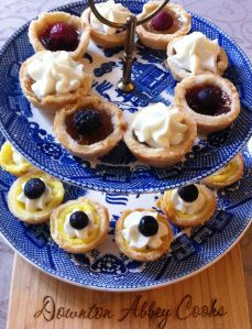Time for Tea with fruit tarts