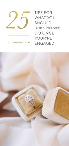What every engaged girl should know! via @stylemepretty