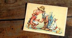 Alte Postkarte. (Foto C.Stank)