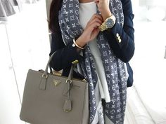2014 DREAM!: Louis Vuitton W Bag Gris