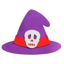 Resultado de imagem para modelo de chapeu de bruxa