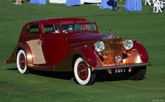 1937 Rolls-Royce Phantom III Sedanca de Ville – 103CP38 – fvr Retro Cars, Vintage Cars, Antique Cars, Rolls Royce Phantom, Bentley Rolls Royce, Vintage Rolls Royce, The Great Race, Mode Of Transport, Big Trucks