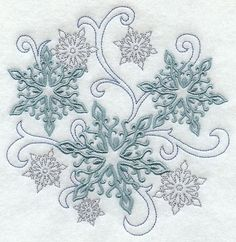 Snowflake tattoo