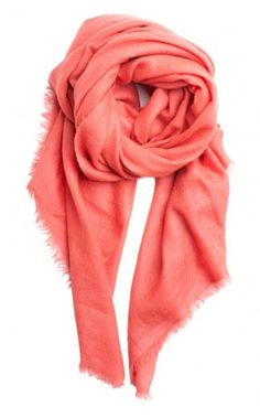Gifts that give back: Vilasi cashmere scarf in 6 colors supporting female artisans who survived trafficking