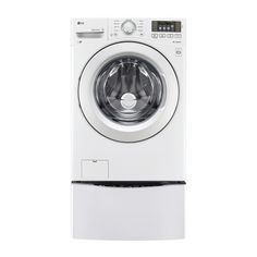 LG Electronics 4.5 cu. ft. Front Load Washer in White, Energy Star