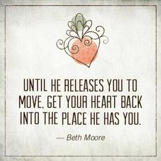 I think this is a part of what TOTAL surrender looks like . waiting for HIM but being faithful and obedient AS you wait. Great Quotes, Quotes To Live By, Me Quotes, Inspirational Quotes, Strong Quotes, Change Quotes, Attitude Quotes, Motivational Quotes, Beth Moore Quotes