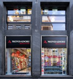 """The new Mondadori store designed by Migliore + Servetto Architects, is an innova- tive, Italian space, expressing the original concept of """"Mondadori for you"""" in a renovated dimension which guides the visitor in the heart of """"Mondadori Experience""""."""