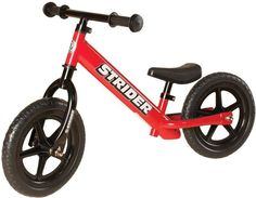 Strider ST-M4RD 12 Classic No-Pedal Balance Bike - RED
