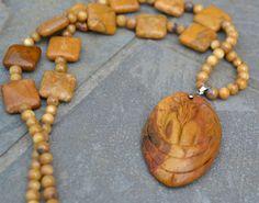 Angel Necklace by DebWiseCreations on Etsy $25.99 SOLD