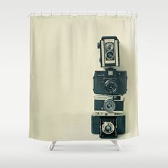 Camera Love Shower Curtain by Cassia Beck - $68.00