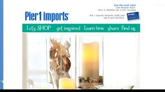 Laura Worthington's Liam #font sent right to my inbox from Pier 1 Imports!