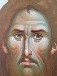 Iconographer Dimitris Maniatis – icoana Fresco, Portrait, Mai, Painting, Icons, Amazing, Fresh, Headshot Photography, Painting Art