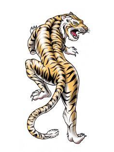 Tigre Chino #Tatuaje Temporal #tattoo