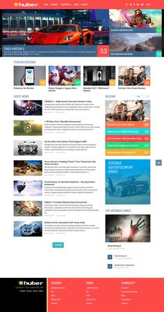 Modern multi-purpose review Wordpress theme that allows you to create a powerful and interactive review site. Huber has the edge over other review themes because of its unique and powerful hub system. #magazine