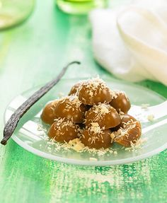Coconut and chocolate candy