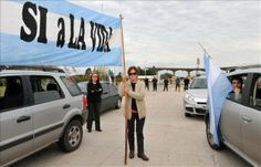 Ecologistas argentinos protestan contra el aumento de producción de UPM - USA Hispanic