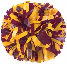 Cheer on your favorite BC team with these maroon and gold pom poms!