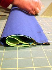 No Exposed Seam Pillowcase Tutorial.