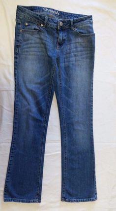 Aeropostale Jeans Juniors Size 2  Chelsea Bootcut Medium wash #Aropostale #BootCutStraightLeg