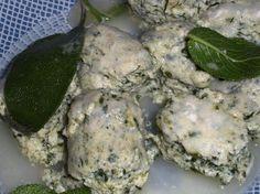 Gnocchi di ricotta, gorgonzola e spinaci