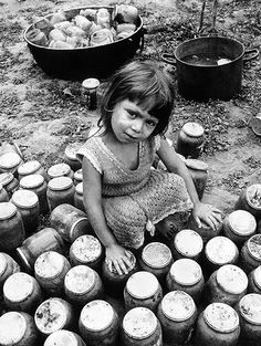 """""""Toni the Gypsy Girl"""" Jacko Vassilev is a Bulgarian photographer who creates incredibly moving images of his countrymen/women using vintage Bulgarian Fohar paper."""