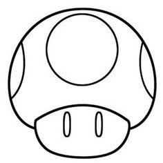 Mario Mushrooms Free Printable 2016