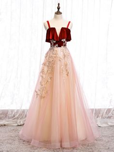 Prom Dresses Long Pink, Tulle Prom Dress, Party Dress, Formal Dresses, Mermaid Dresses, Pink Tulle, Tulle Lace, Custom Dresses, Dress And Heels