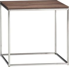 Frame Side Table in Accent Tables | Crate and Barrel