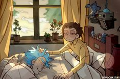 this is the most adorable thing ever i-😭 - rick and morti - Lenora Rick And Morty Image, Rick And Morty Comic, Rick I Morty, Rick And Morty Store, Fanart, Rick And Morty Crossover, Ricky And Morty, Cartoon As Anime, Gravity Falls